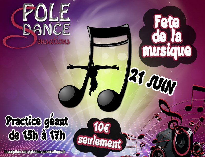 pole dance fitness melun